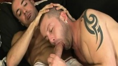 Zac Elias and Rex Francis taste each other's dicks and have great sex