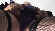 A Big Blonde Granny