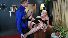 Every nerve of her graceful body is eager to have that dick pounding her hungry holes