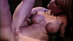 Surprisingly passionate all-hole sex in the scary fetish dungeon