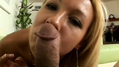 Tianna Love is a beautiful blonde with impressive cock sucking skills