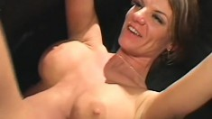 Eager MILF can't wait to feel some fresh young cock up her cunt