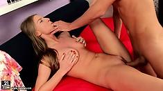 Sultry female named Malia prepares for the impressive anal sex