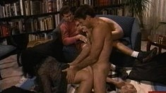 Jeanna Fine is eager to get fucked by Mike Horner in a foursome