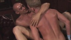 Gay Lovers Exchange Blowjobs And Take Turns Fisting Each Other's Asses