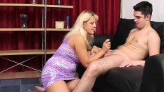 Mature Russian Blonde With Huge Boobs