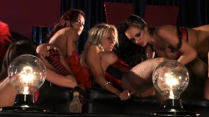 Lesbian Group Sex Club