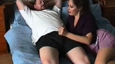 Milf Double Penetrated By Big Cocks