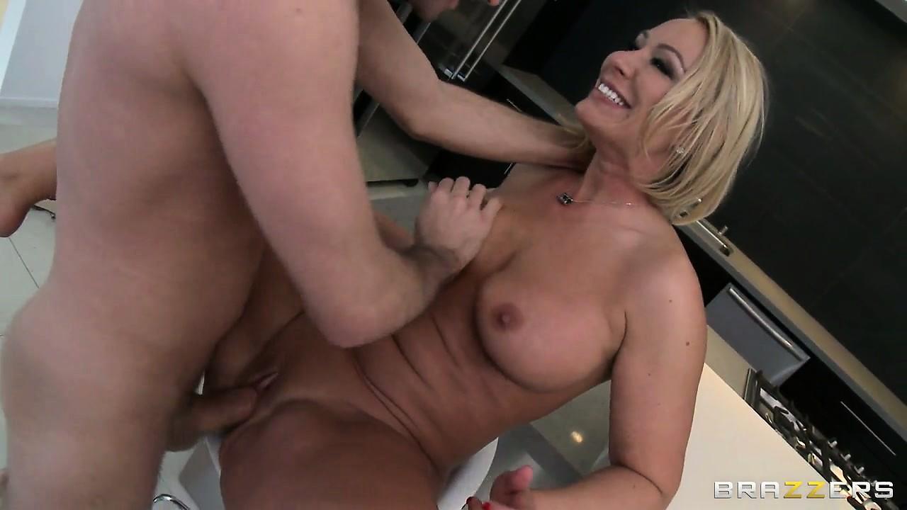 Hot Step Mom Wants Fuck Son