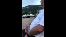 Daddies fan handjob