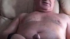 spanish grandpa wanking hard