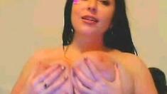 Huge Boobs On Webcam