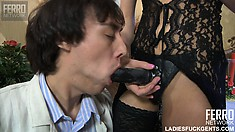 Lonely boy Jack gives his bottom up to hot bombshell Madeline